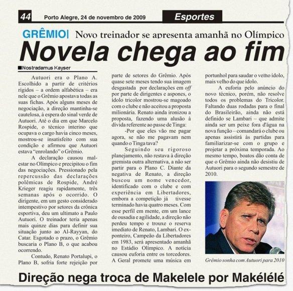 """Clique para ampliar e repare na data do """"jornal""""..."""